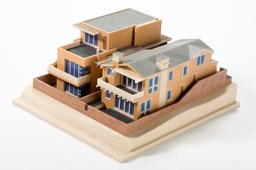 Makieta architektoniczna, druk 3D