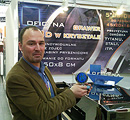 Prezes firmy Robert Urbaniak z nagrodą Prize for Innovations